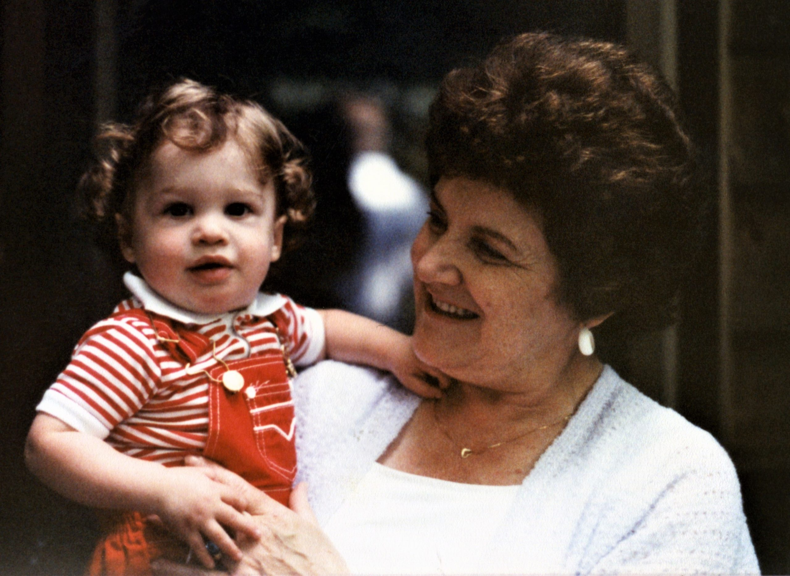 Dr. Mladenovic as a child, with her mother.